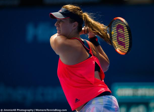 Anastasia Pavlyuchenkova closes out the match in just 65 minutes | Photo: Jimmie48 Tennis Photography