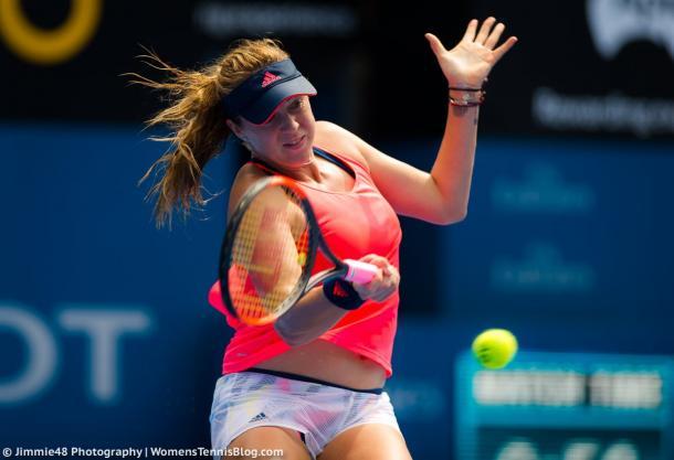 Anastasia Pavlyuchenkova moves on in Sydney   Photo: Jimmie48 Tennis Photography