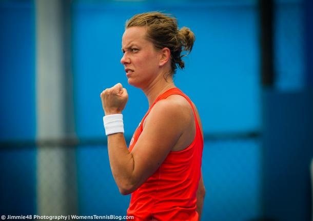 Barbora Strycova moves on to the quarterfinals | Photo: Jimmie48 Tennis Photography