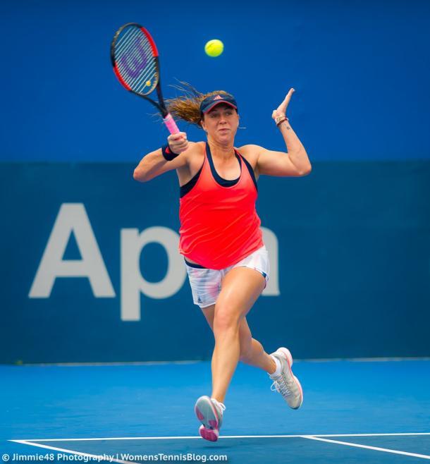 Pavlyuchenkova progresses to the second round | Photo: Jimmie48 Tennis Photography