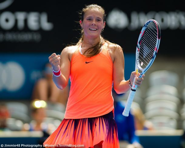 Daria Kasatkina earned her best victory of her career | Photo: Jimmie48 Tennis Photography
