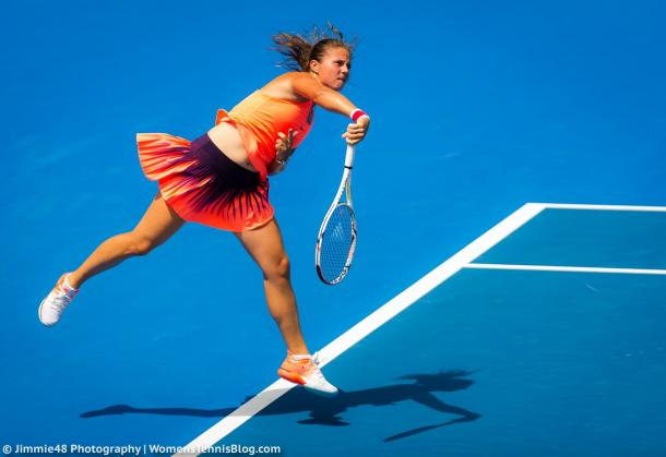 Daria Kasatkina managed to pull off a great upset | Photo: Jimmie48 Tennis Photography