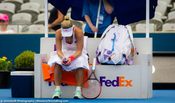 Angelique Kerber had a poor match today | Photo: Jimmie48 Tennis Photography