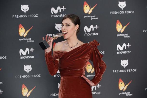 """Ruth Díaz en los """"Premios Feroz 2017)"""