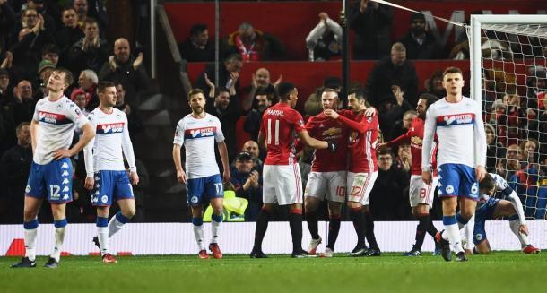La gioia dello United. Fonte foto: Squawka.com