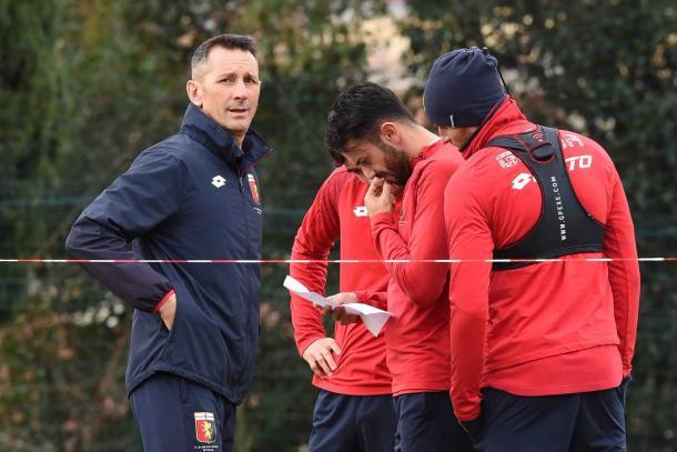 Il Genoa in allenamento - Fonte: genoacfc.com