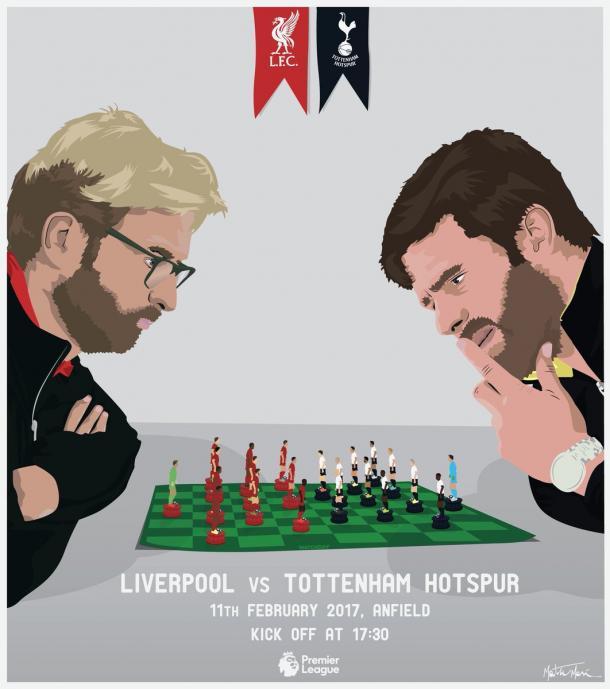La splendida presentazione della partita del profilo ufficiale del Liverpool. | Fonte: twitter.com/lfc