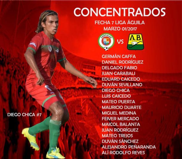 Foto: Twitter Oficial de Cortuluá
