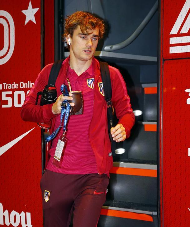 Antoine Griezmann, il più atteso. Fonte foto: atleticodemadrid.com