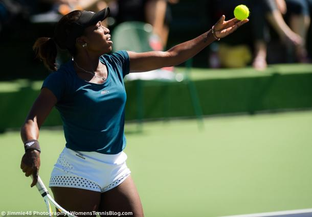 Sachia Vickery in action | Photo: Jimmie48 Tennis Photography