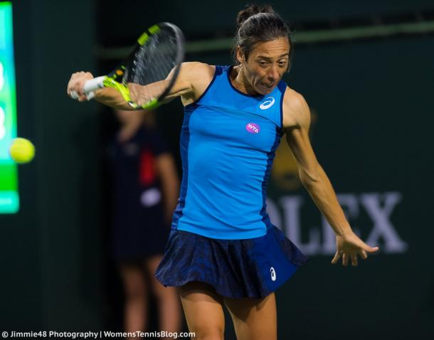 Francesca Schiavone would be happy with her performance over these few days | Photo: Jimmie48 Tennis Photography