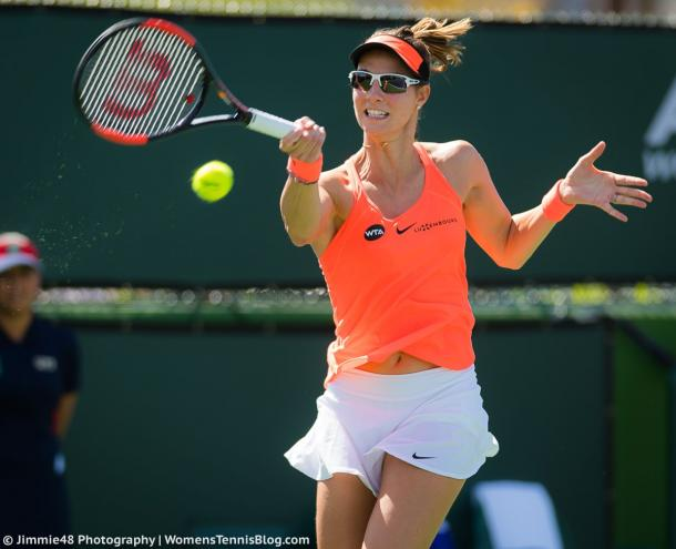 Mandy Minella would be pleased with her performance today | Photo: Jimmie48 Tennis Photography