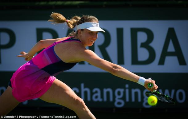 Mona Barthel had a great win today | Photo: Jimmie48 Tennis Photography