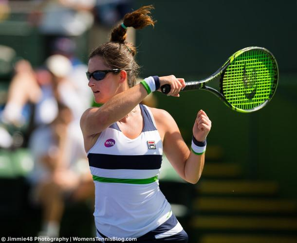 Jamie Loeb fell to Peng Shuai in straight sets | Photo: Jimmie48 Tennis Photography