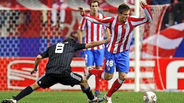 Saúl en su debut ante el Besiktas l Foto: @saulniguez