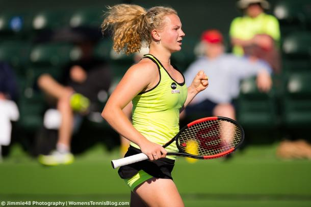 Katerina Siniakova would be happy with her win | Photo: Jimmie48 Tennis Photography