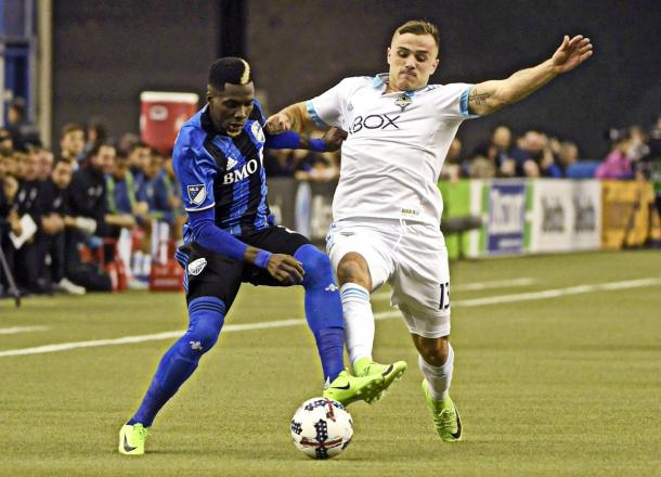Jordan Morris did not have the best day in front of goal | Source: Eric Bolte/USA TODAY Sports