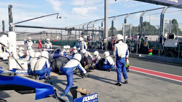 Antonio Giovinazzi sulla Sauber Torna un pilota italiano in F1
