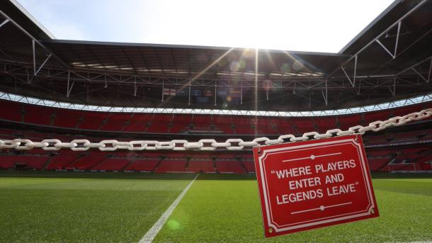 Wembley Stadium | Imagen: @England