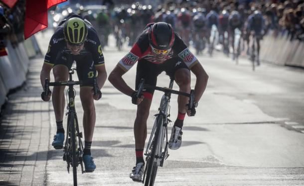 Van Avermaet fue más rápido en el sprint | Fotografía: Cyclingtips