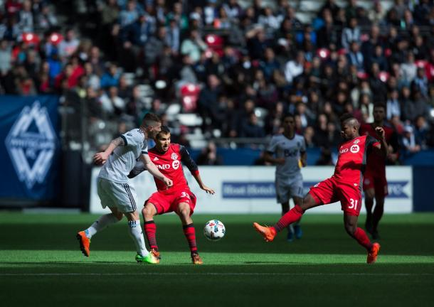 The first half ended in a stalemate | Source: Darryl Dyck/The Canadian Press