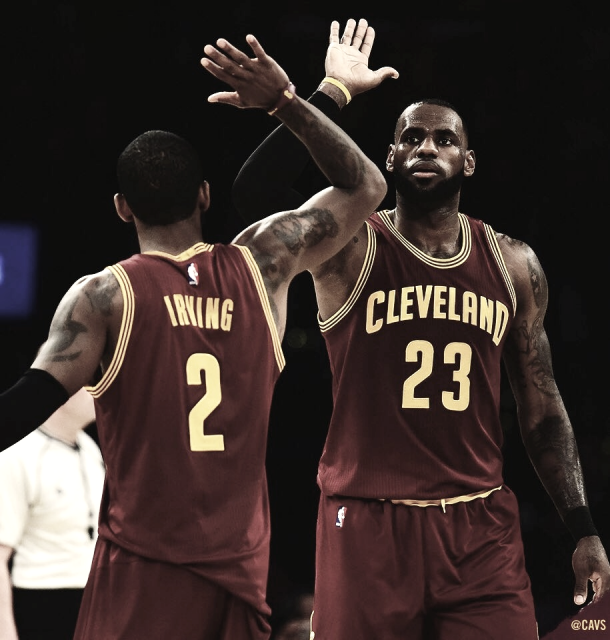 Irving-James | Foto: Cleveland Cavaliers