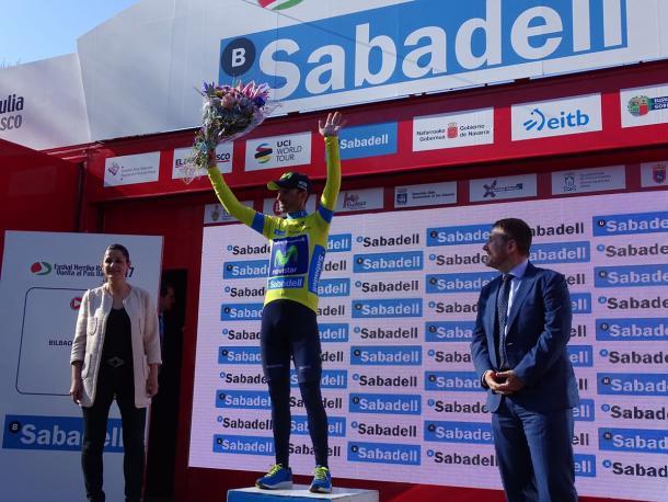 Giro dei Paesi Baschi 2017, tappa e maglia per Alejandro Valverde