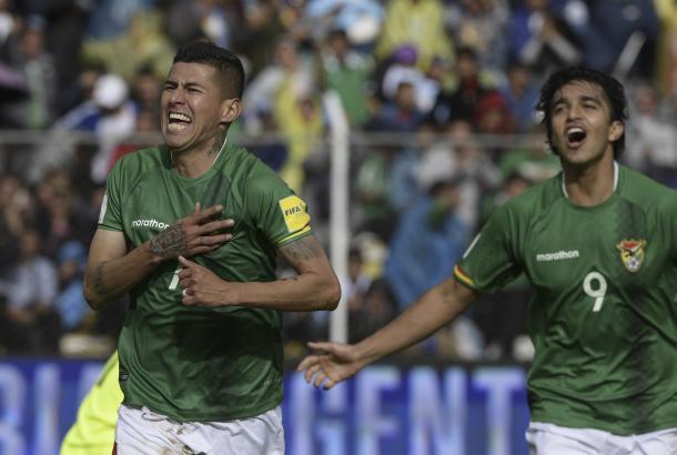Bolivia pudo imponerse ante Argentina en el último reto en su terreno. Foto: CONMEBOL