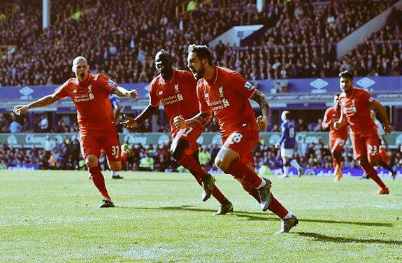 Danny Ings celebrando un gol con el Liverpool (Danny Ings twitter)