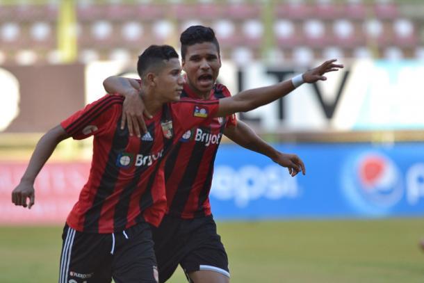 El juvenil Vargas y Jesús Hernández se hicieron presentes en el marcador / FOTO: Deportivo Lara
