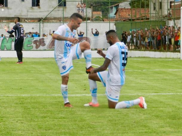 Atacante Moisés retorna à titularidade no Papão pela ausência de Walter (Foto: Ronaldo Santos/Paysandu)