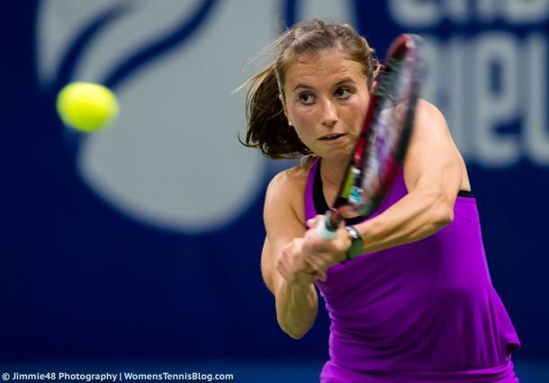 Annika Beck in action | Photo: Jimmie48 Tennis Photography