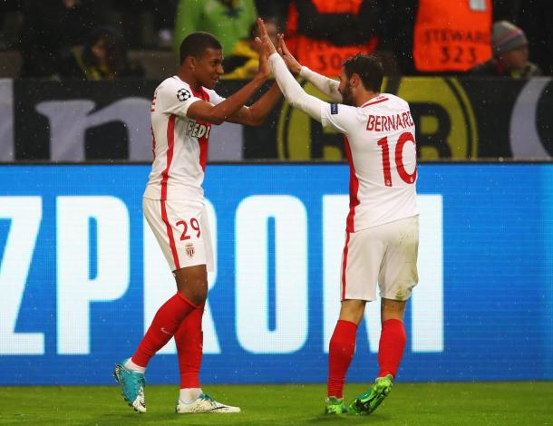 La gioia di Mbappé e Bernardo Silva | Foto: @championsleague