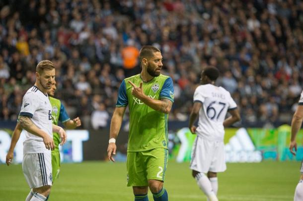 Clint Dempsey had a very unlucky night in front of goal | Source: Joe Nicholson-USA TODAY Sports