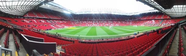 Old Trafford. | Fonte: twitter.com/rscanderlecht