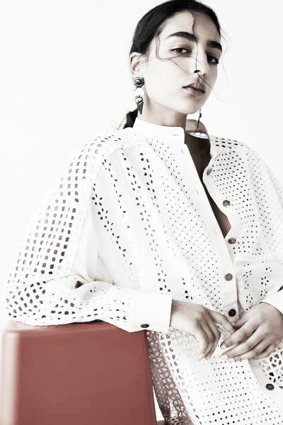 Camisa Patchwork // Foto: página web Zara