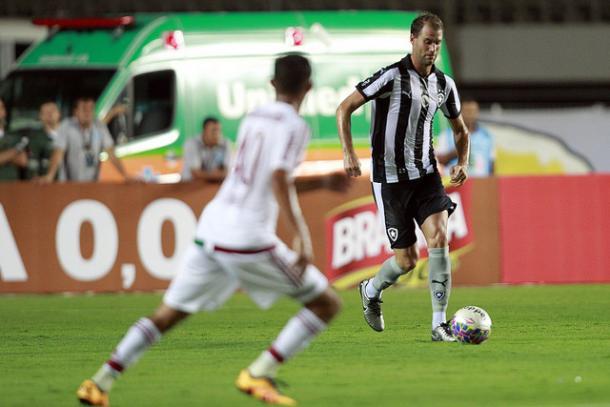 Atuação firme contra o Fluminense em Cariacica e vitória por 2 x 0 (Reprodução/ Vitor Silva/SSPress/Botafogo)