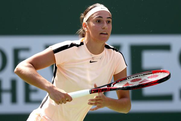La tenista Caroline García no pudo vencer a su compatriota Alize Cornet (zimbio.com)