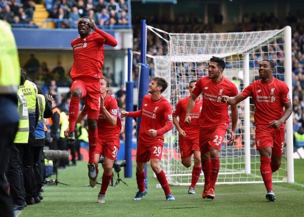 Benteke struck the last time the two sides met in a 3-1 win for Liverpool. | Image source: Liverpool Echo
