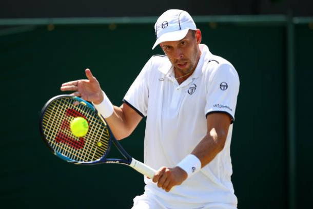 Gilles Muller will look to be aggressive when he faces the fourth seed on Monday (Getty/Clive Brunskill)