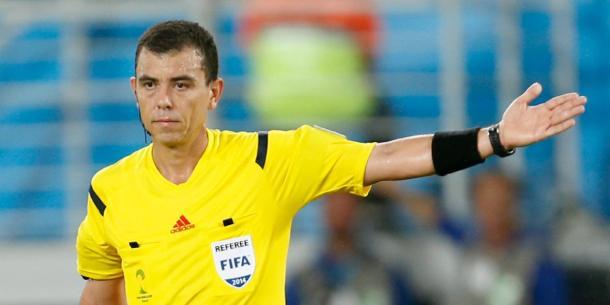 Joel Aguilar, el árbitro encargado del Suecia vs Corea | Foto: @MLS