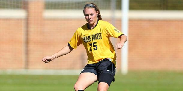 Haran featuring for Wake Forest | Source: wakeforestsports.com