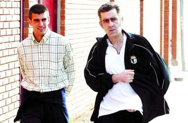 De los Mozos y Terrazas consiguieron el ascenso en su primer año juntos (Foto: Diario de Burgos)