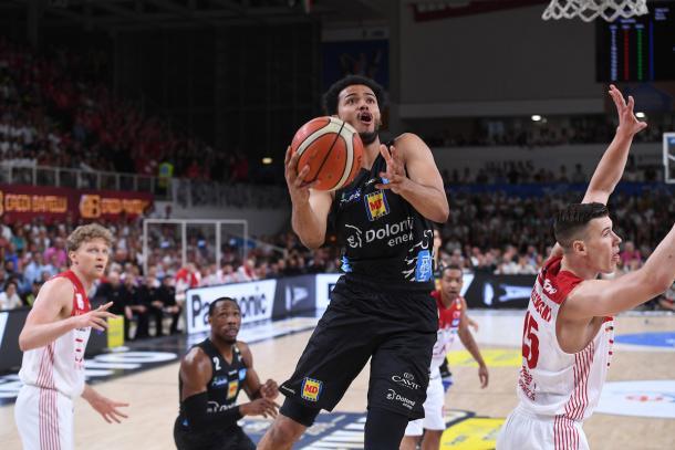 SShields Shavon Dolomiti Energia vs Trentino EA7 Olimpia Milano  Lega Basket Serie A 2017/2018 Finale Gara 3 Trento, 09/06/2018 Foto Ciamillo Castoria