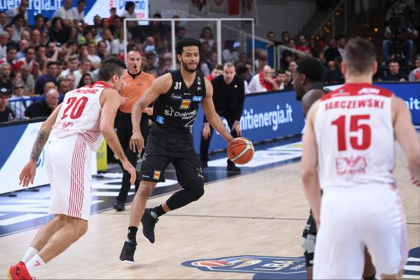 Shields Shavon Dolomiti Energia Aquila Trento - EA7 Emporio Armani Milano Legabasket Serie A 2017/18 Finali, Gara 06 Trento, 15/06/2018 Foto Ciamillo-Castoria