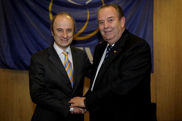 Agustín Martín Santos (izquierda).   Foto: CEV