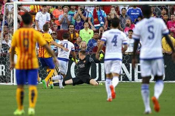 Chelsea's performance against Barcelona was one of very few highlights in last year's competition. | Photo: BR