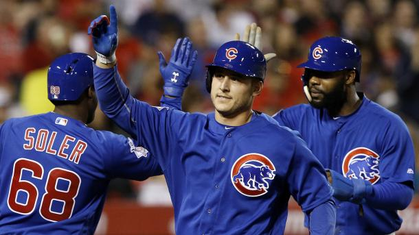 The Cubs has crushed their way to a 15-5 start behind great pitching and hot bats up and down their lineup | Getty Images