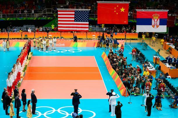 China, Serbia y Estados Unidos coparon el podio Olímpico de Río 2016. | Foto: FIVB