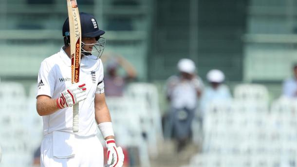 Root scored yet another half century for England in Chennai | Photo: ECB